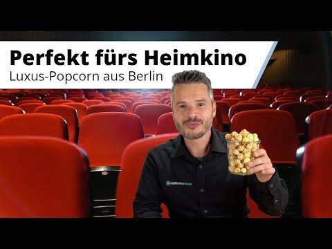 Handgemachtes Popcorn von Knalle aus Berlin - Popcorn wie im Kino, nur besser :)