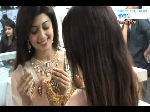 JEWELS OF Exotica Biggest Jewellery Expo inaugurating by Film Actress PranitaSubhash