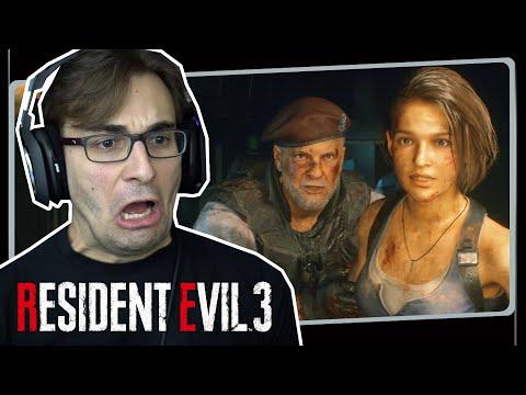 RESIDENT EVIL 3 Remake #4 - A Delegacia De Raccoon City | Gameplay Em Português PT-BR