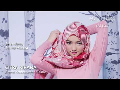 Tutorial Hijab Simple Selendang Pashmina Citra Kirana Elzattahijab Youtube