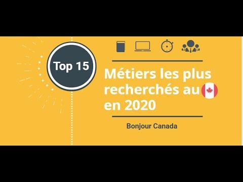 Top 15 Des Métiers Les Plus Recherchés Au Canada En 2020