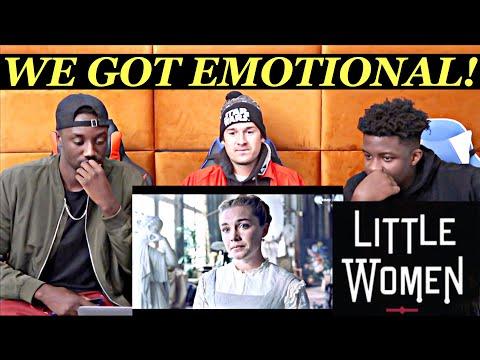 LITTLE WOMEN Clips & Trailer (2019) - REACTION FEAT FOSQUAD
