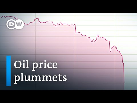 Crude oil virtually worthless as storage capacities run low | DW News