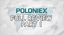 Poloniex In Depth Exchange Review Part 1 - #Cryptotrader