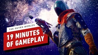 The Outer Worlds - 19 Minutes of Gameplay in Stellar Bay