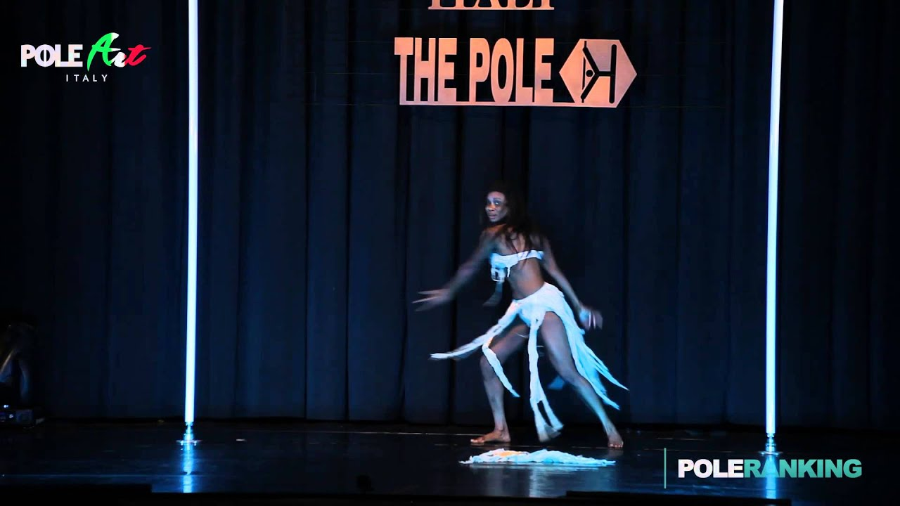 Phoenix Kazree Pole Art Italy 2015 Elite Women Winner