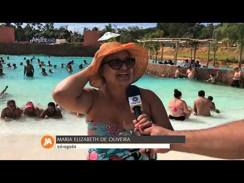 Amsterland tem feito sucesso em Santana do Livramento - Jornal do Almoço 11/02/2020