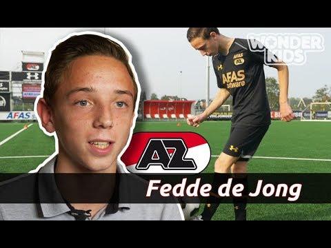 WONDERKIDS #1 | AZ-talent Fedde de Jong (14) leeft jongensdroom: 'Hoop ooit bij Barcelona te spelen'