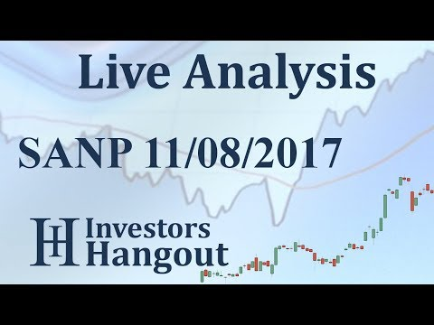 SANP Stock Live Analysis 11-08-2017