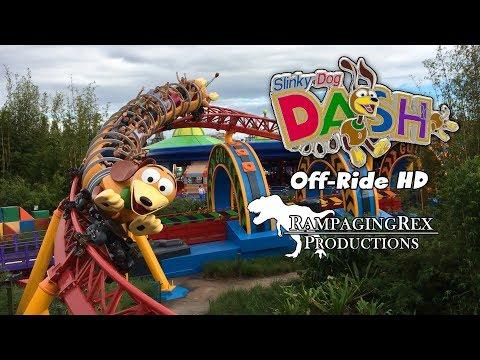 Slinky Dog Dash Off-Ride HD Disney's Hollywood Studios