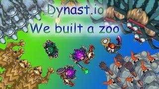 Epic Dynast.io - We Built A Zoo - part two - (Super - D)