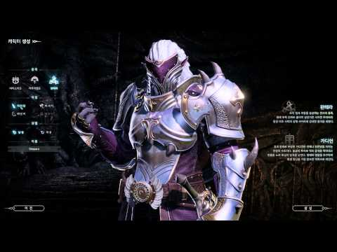 Bless Online Closed Beta Character Preset Selection Customization Disabled 4k