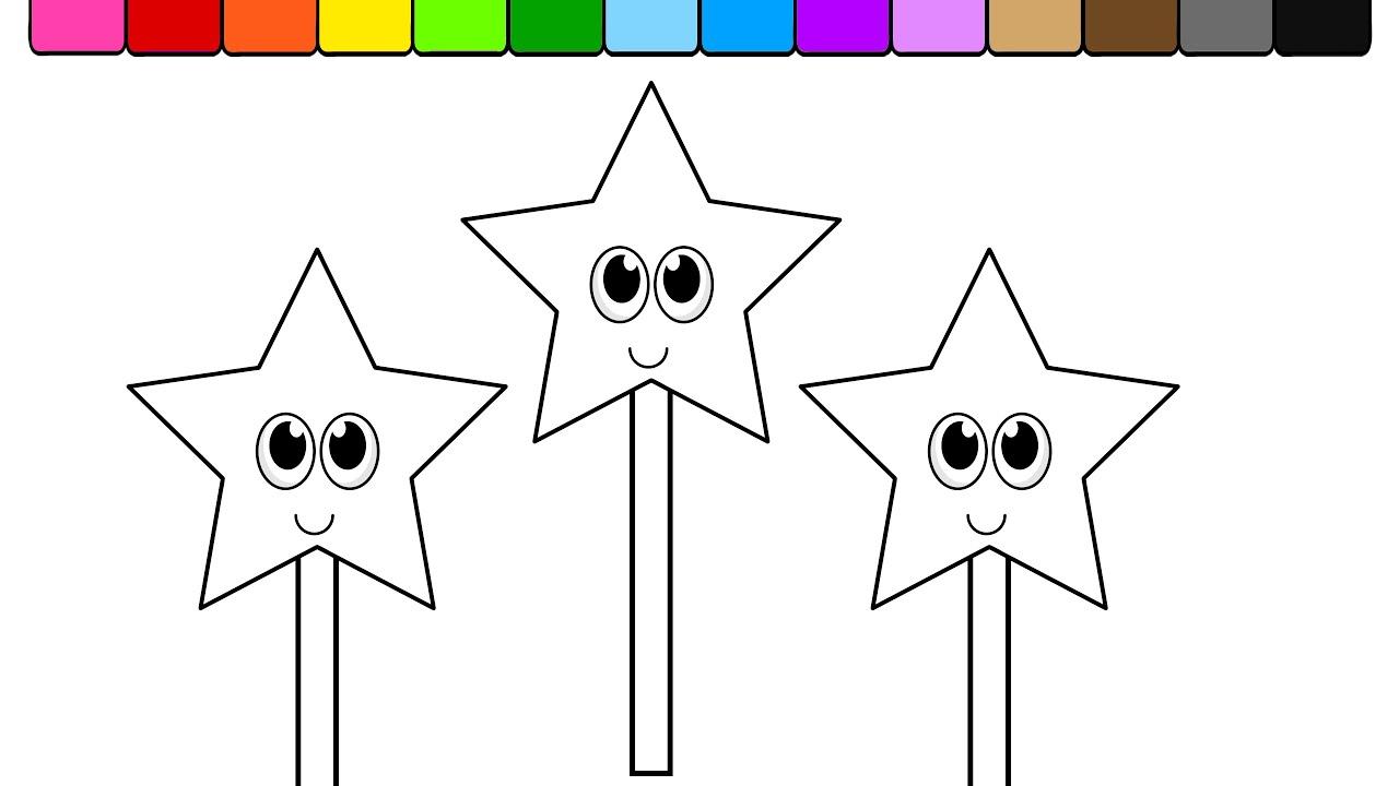 magic wand coloring page - magic wand coloring sheet murderthestout