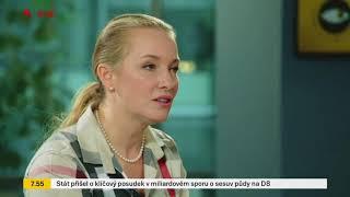MUDr. Lucie Valešová - TV Seznam - laserová operace očí - 20.2.2018