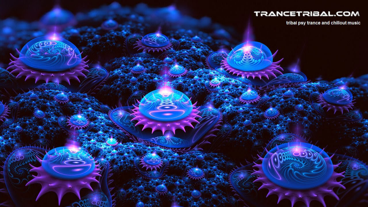 beautiful psychedelic chillout mix ( psychill / psybient ) HD by trancetribal.com
