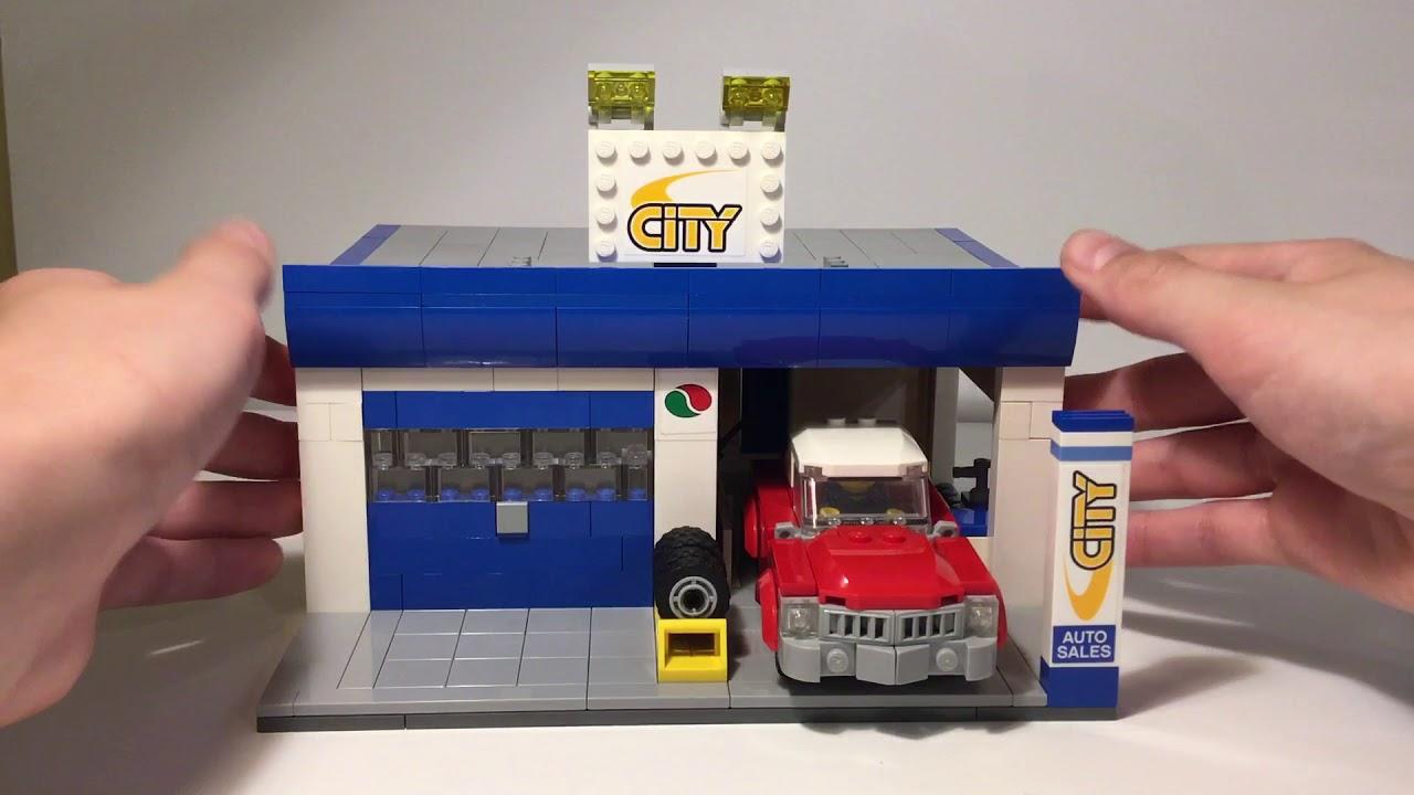Custom LEGO Auto Body Shop