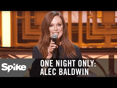 Julianne Moore: You Work with Alec, You Win an Oscar | One Night Only: Alec Baldwin