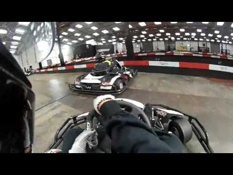 Paige Haines Go Karting at Capital Karts London