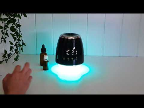 The Aroma Clock Diffuser