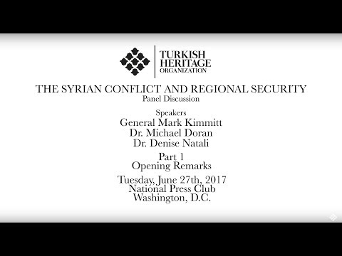 THO Hosts Panel On Syrian Conflict And Regional Security - Opening Remarks
