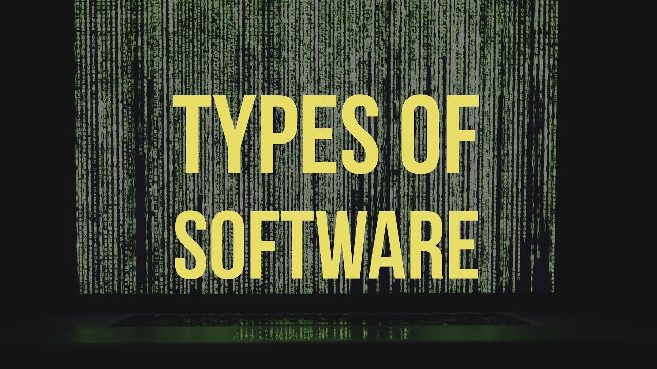 Theory Lesson 3 Types Of Software - Lessons - Tes Teach