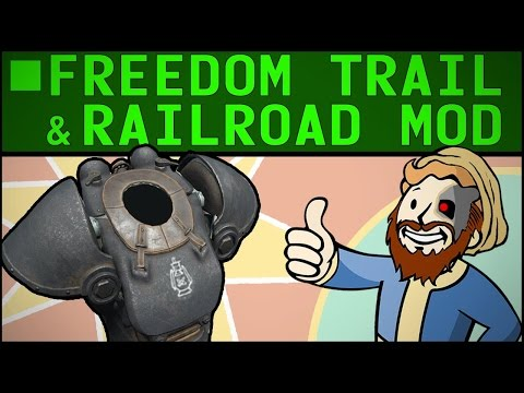 Freedom Trail Guide & Railroad Paint Job | Fallout 4 GUIDE