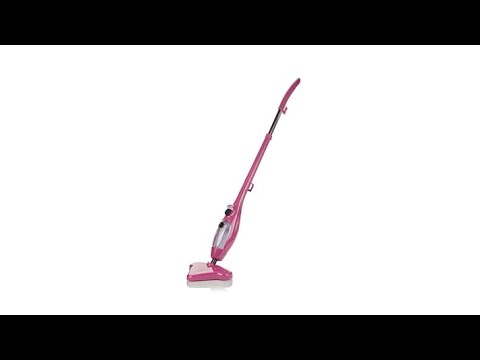 H2O Mop X5 Steam Cleaner with Accessories and Mitt