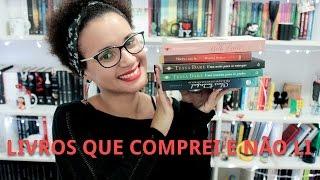 29. Livros que comprei e não li - #RaphaTodosOsDias | Por Equalize da Leitura