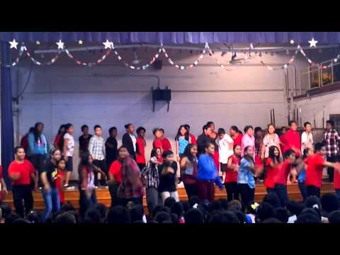 Kaewai Elementary school fifth graders