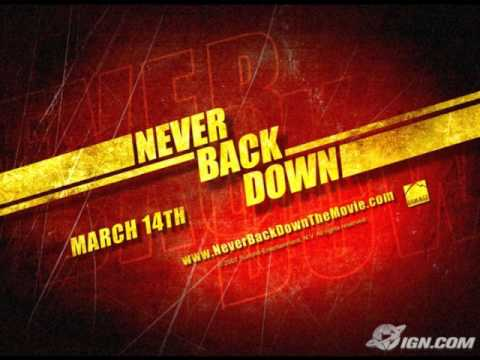 The Slam - Toby McKeehan - Never Back Down version