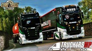 Euro Truck Simulator 2 Multiplayer EU2 [ ITALY ]   Terni - Roma   with Patrycja   [#5] Timelapse