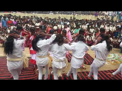 Jharkhandi dance kasturba gandhi
