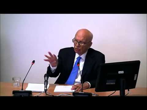 Leveson Inquiry - John Hendy QC questions Rupert Murdoch
