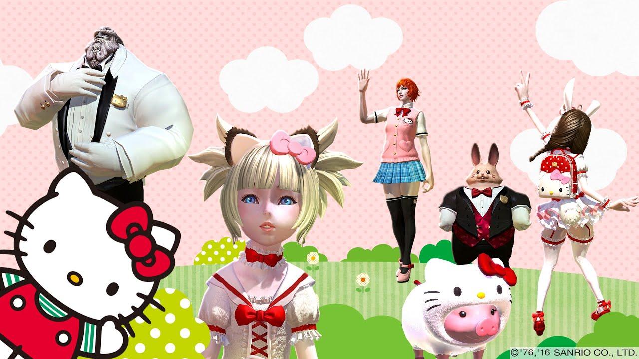 TERA Hello Kitty Comes to TERA!  YouTub -> Kuchnia Dziecieca Hello Kitty
