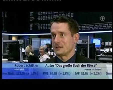 Robert Schittler bei Börse im Ersten