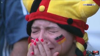 دموع البرازيل والمانيا.