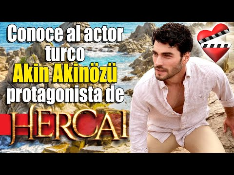 Conoce A MIRAN Protagonista De Hercai, AKIN AKINÖZÜ.