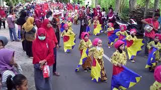 Full Pawai Karnaval Parade Drumband TK