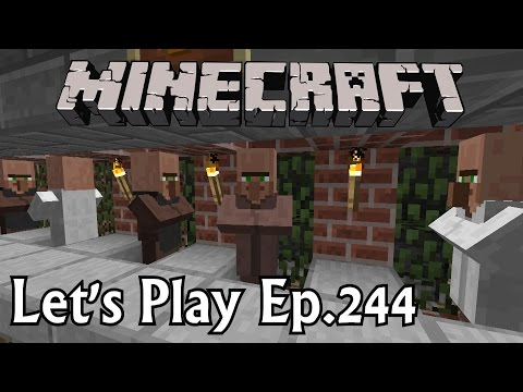 Minecraft Let's Play Ep. 244- Farming the Trades