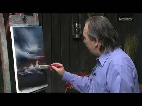 Technique de peinture d 39 un rocher youtube - Nettoyer les pinceaux de peinture ...