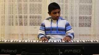"Malayalam Christian song ""Vazhthuka Nee Maname"" piano instrumental."