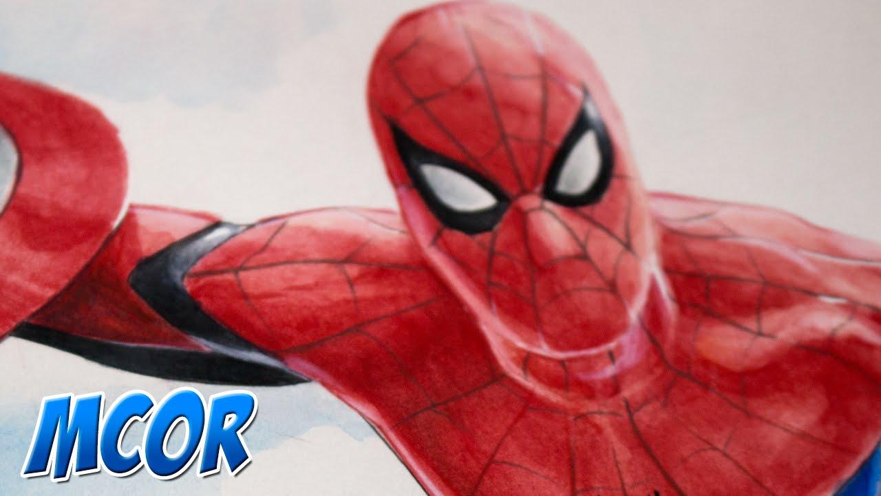 Dibujando a Spider-Man - Capitan America 3: Civil War - YouTube