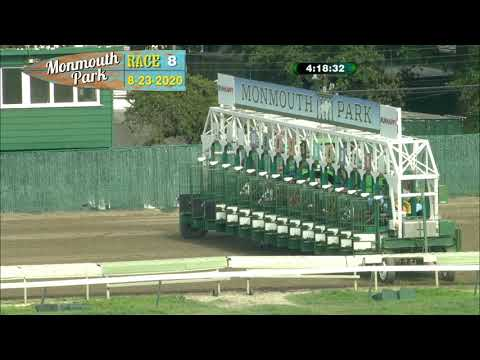 video thumbnail for MONMOUTH PARK 08-23-20 RACE 8