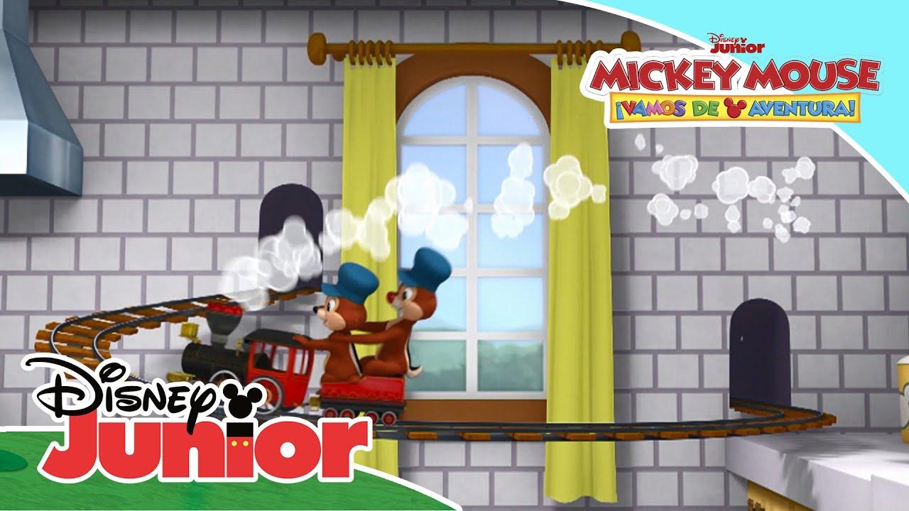 Miniaventuras con Mickey: Problemas con el trenecito | Disney Junior Oficial