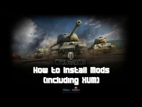 How to Install Mods (and XVM) World of Tanks