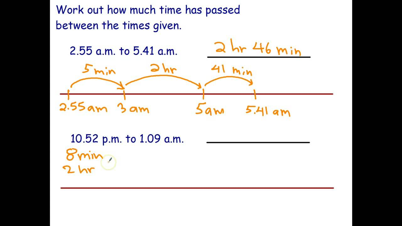 Find Elapsed Time (examples [ 720 x 1280 Pixel ]