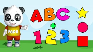 Preschool Learning Videos for 3 Year Olds | Kids Learning  | Learn Alphabet | Counting Numbers
