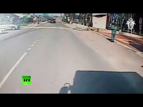 В Воронеже водитель Mercedes намеренно сбил курсанта МЧС