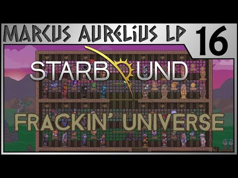 Starbound Frackin Universe - 16 - Armor and Farms