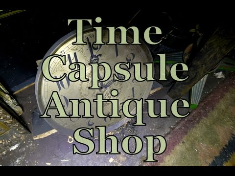 Time Capsule Antique Shop - Epic Abandoned Exploration!